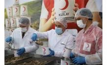 Genel Başkan Kınık Kızılay Kurban konservesinin serüvenini anlattı