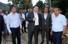 MHP heyetinden Esmahanım köyüne ziyaret