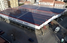 Melikgazi'de güneş enerjisi ile belediye bütçesine katkı