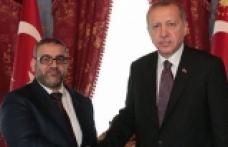 Erdoğan, Halid El-Meşri ile görüştü