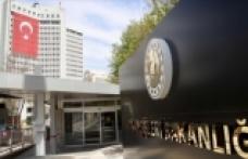 Dışişleri Bakanlığı Ermenistan'ın sivillere yönelik saldırılarını kınadı