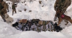 Asker kar altında böyle buldu!