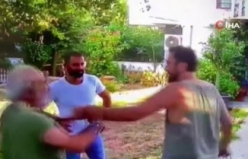 Halil Sezai'nin yaşlı adamı dövdüğü görüntüler ortaya çıktı