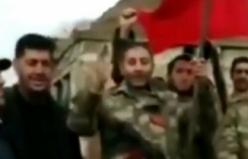 Azerbaycan askerinden Türkiye'ye teşekkür