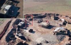 Fırat'ın doğusundaki teröristler TRT Haber dronuna ateş açtı
