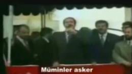 Merhum Erbakan ve Erdoğan'ın eski günlerinden kareler