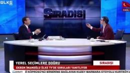 Ekrem İmamoğlu ile Turgay Güler canlı yayında kapıştı!