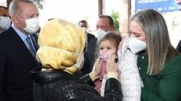Erdoğan çifti Ayda bebeği ziyaret etti