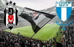 Beşiktaş iki kez direklere takıldı / CANLI