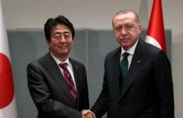 Başkan Erdoğan, Japonya Başkanı Abe ile görüştü