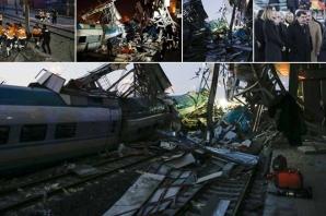 Ankara'daki tren kazasından ilk görüntüler