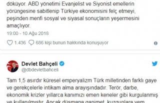 Bahçeli: Başaramayacaklar, Türkiye'nin ekonomik...