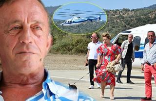 Ağaoğlu'ndan helikopterle bayram ziyareti