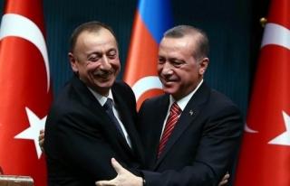 Aliyev'den Başkan Erdoğan'a kutlama