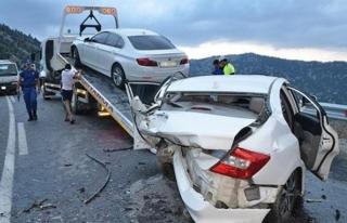 Tatilin 8. gününde meydana gelen kazalarda 20 kişi...