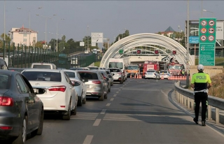 Avrasya Tüneli'nde yaşanan kaza trafiğe neden oldu
