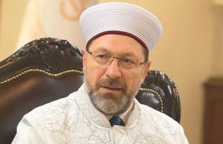 Ali Erbaş'tan, 'cemaatlerin denetlenmesi' ile ilgili...