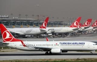Bayram tatilinde 2 milyon 340 bin 448 yolcu THY ile...