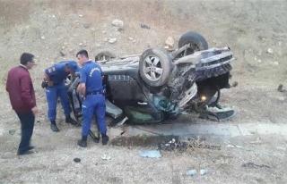 Felahiye Belediye Başkanı kaza geçirdi