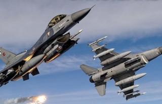 Hakurk'a hava harekatı, 3 PKK'lı öldürüldü