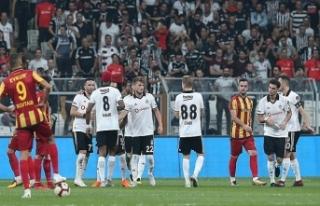 Beşiktaş: 2 Evkur Yeni Malatyaspor: 1