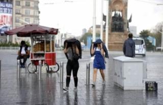 İstanbullulara uyarı: Şemsiyesiz çıkmayın