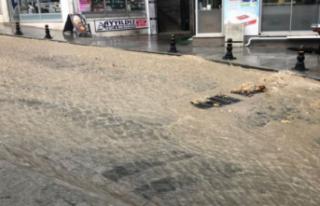 Kocaeli sağanak yağış altında