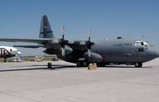 ABD askerlerini taşıyan uçak düştü iddiası