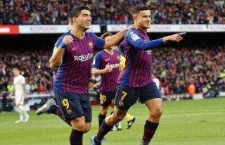 Barcelona Real Madrid'i ezdi geçti