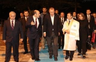 Başkan Erdoğan Erciyes Üniversitesi'nde konuştu