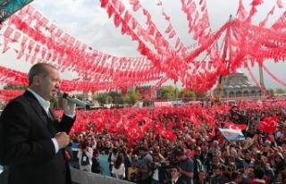 Başkan Erdoğan: İş Bankası hisselerinin devrini...