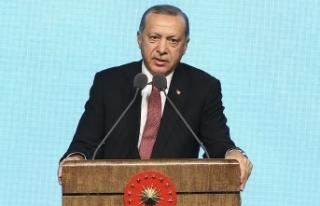 Başkan Erdoğan: Yeniden diriliş, şahlanış döneminin...