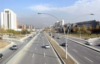 Başkentte bugün bazı yollar trafiğe kapatılacak