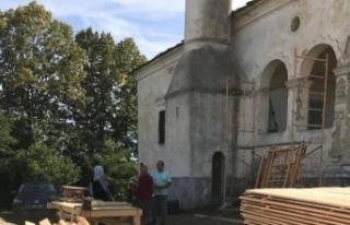 Bulgaristan'da 200 yıllık cami onarılıyor