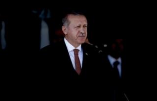 Erdoğan: Münbiç'te kendi mezarlarını kazıyorlar