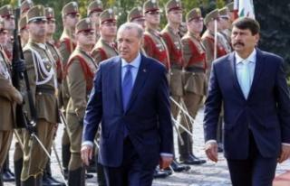 Erdoğan Türkiye-Macaristan İş Forumu'nda...