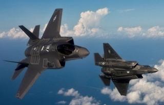 F-35'ler Mart'ta geliyor