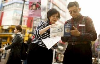 Japonya vizesiz geziyor