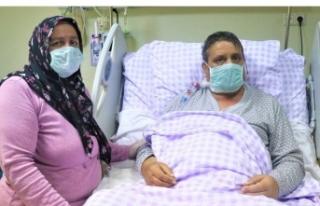 Nakledilecek karaciğeri TSK getirdi