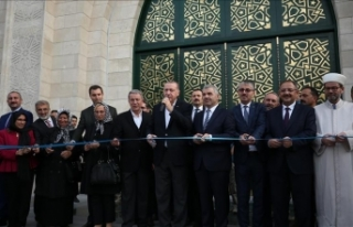 Orgeneral Hulusi Akar Camii'nin açılışı...