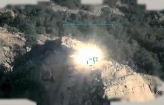 PKK'ya ait hedeflere nokta operasyon