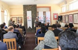 TİKA'dan Afganistan'a sergi desteği