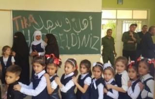 TİKA'nın Irak'a okul desteği