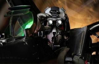 TSK'nın jet pilotu sosyal medyayı salladı