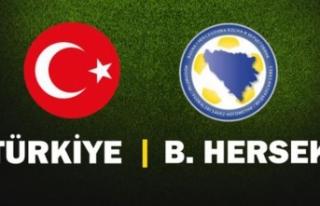 Türkiye Bosna Hersek maçı hangi kanalda, saat kaçta,...