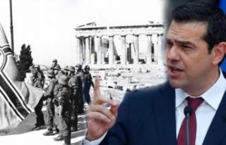 Yardımı kesilen Yunanistan, Almanya'dan tazminat...
