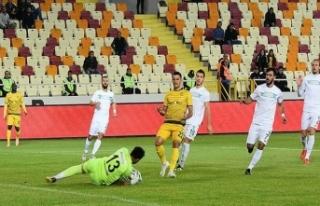 Yeni Malatyaspor tek golle turladı