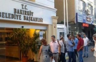 Bakırköy Belediyesi'ne icra şoku