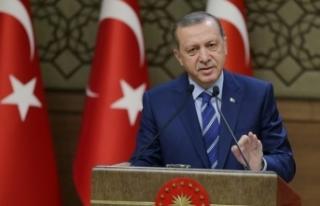 Erdoğan'dan Türkçe ezan tepkisi