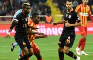 Galatasaray Kayseri engelini rahat geçti